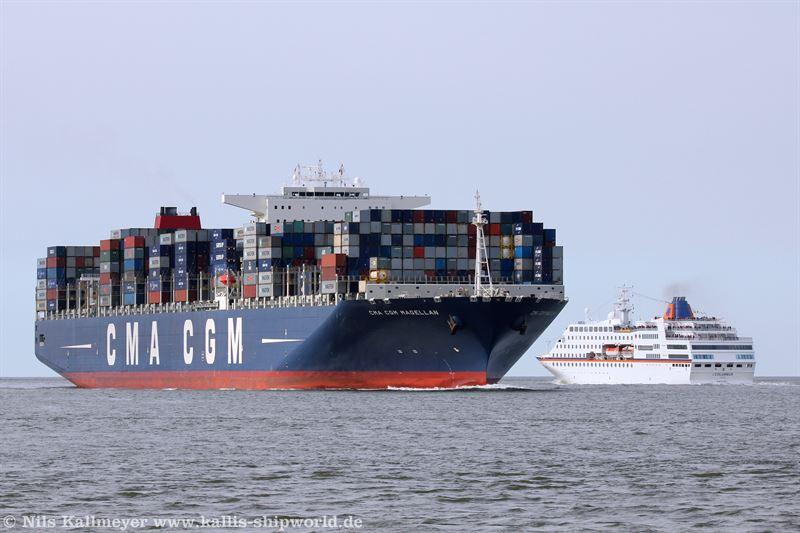 CMA CGM Magellan (IMO9454424)